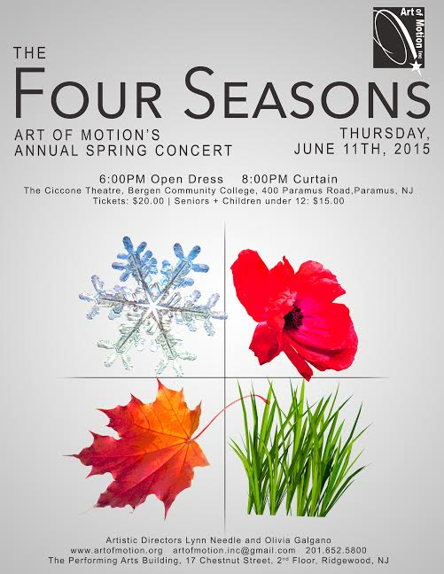 AOM's Annual Spring Concert: The Four Seasons – Art of